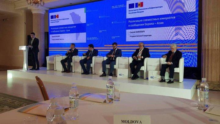 Moldova a participat la Conferința internațională de transport privind dezvoltarea traficului de mărfuri Europa-Asia