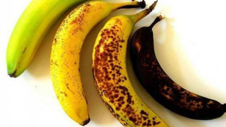 TREBUIE SĂ ȘTII! Care sunt cele mai sănătoase banane: verzi, galbene sau cu pete maronii