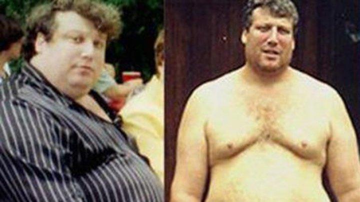 ULUITOR! Bărbatul care a slăbit 110 kilograme fară să ţină vreo dietă. Cum a fost posibil (FOTO)