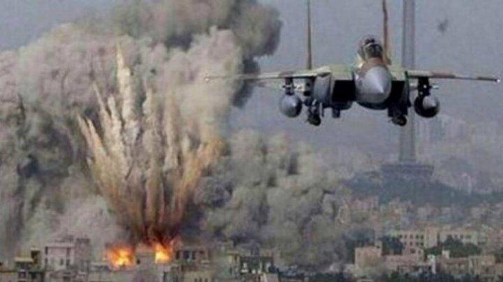 Aviaţia militară israeliană a efectuat raiduri aeriene în Fâşia Gaza