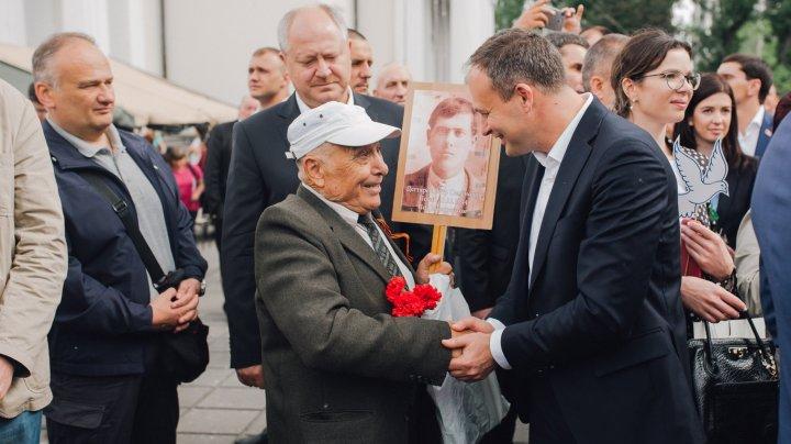 Andrian Candu: Niciodată ororile celui de-al Doilea Război Mondial nu trebuie să se repete