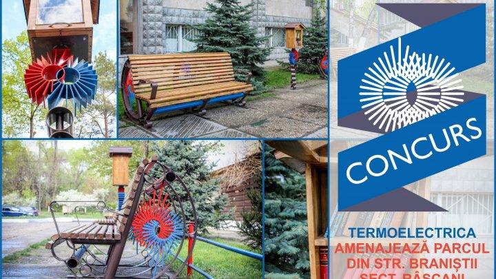 Internauţii au votat: Termoelectrica va reamenaja parcul Râșcani din Capitală