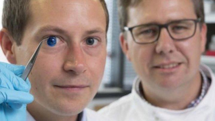 Corneea umană artificială, realizată în premieră cu o imprimantă 3D