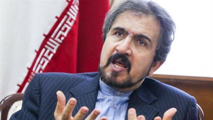 Bahram Qasemi: Siria are tot dreptul să se apere împotriva Israelului