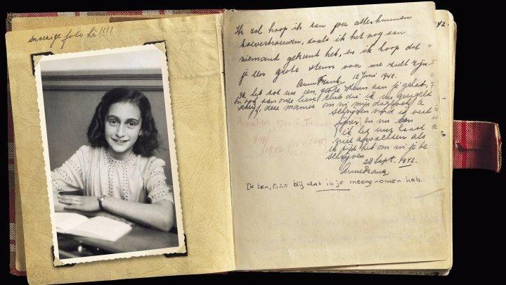 Fragmente INDECENTE descoperite în două pagini din Jurnalul Annei Frank