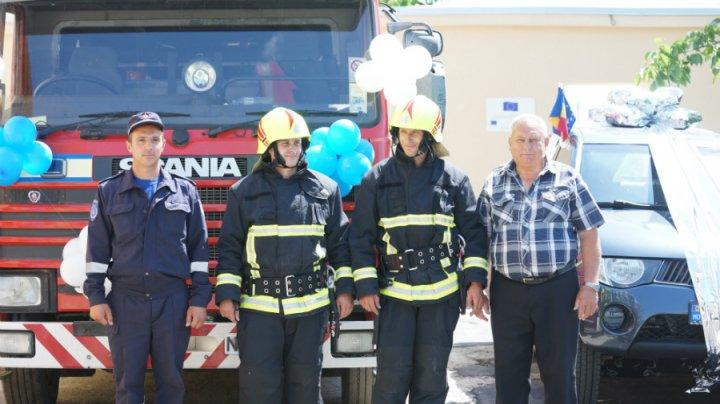 Postul de salvatori și pompieri din Copanca a fost renovat cu sprijinul Uniunii Europene