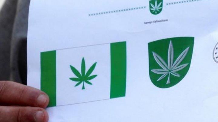 """O localitate și-a ales ca logo o frunză de marijuana. Oficialul nu vede """"nimic rău"""""""