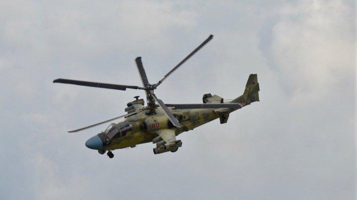 Un elicopter militar rus s-a prăbuşit în estul Siriei. Piloţii nu au supravieţuit