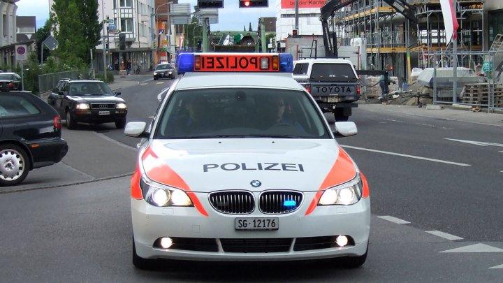 Un moldovean, arestat în Elveţia după o cursă nebună! Ce au găsit poliţiştii în maşina bărbatului