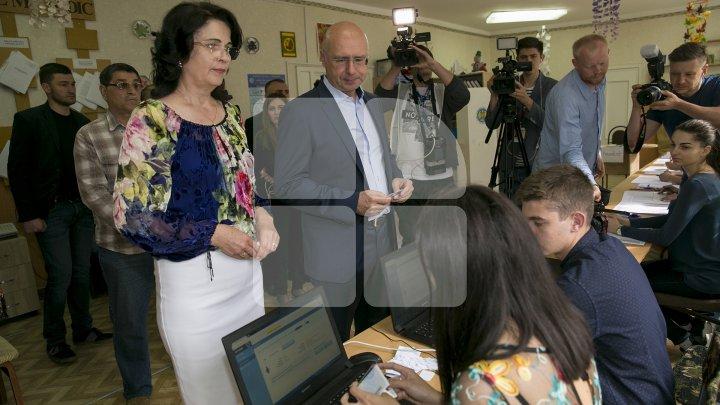 Filip: Am votat pentru un primar care să muncească şi să nu folosească alegerile locale drept trambulină pentru cele din toamnă