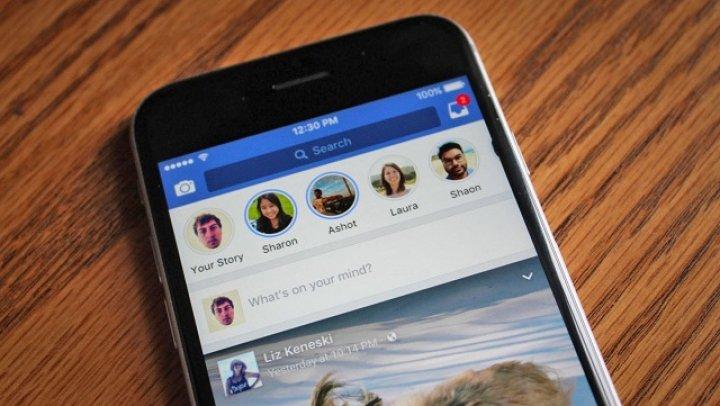 Facebook va afişa reclame la secţiunea Stories