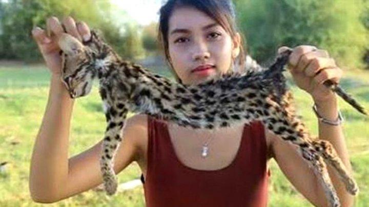 Nu o să-ți vină să crezi! O femeie a jupuit, gătit și mâncat animale pe cale de dispariție pentru a câștiga bani pe Youtube (VIDEO)