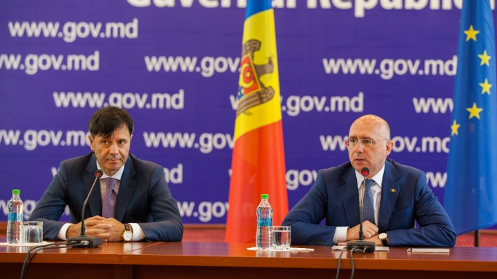 Pavel Filip l-a prezentat pe noul director general al Agenției Proprietății Publice