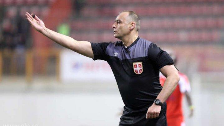 Un arbitru din Serbia a fost reţinut de poliţie pentru aranjarea unui meci