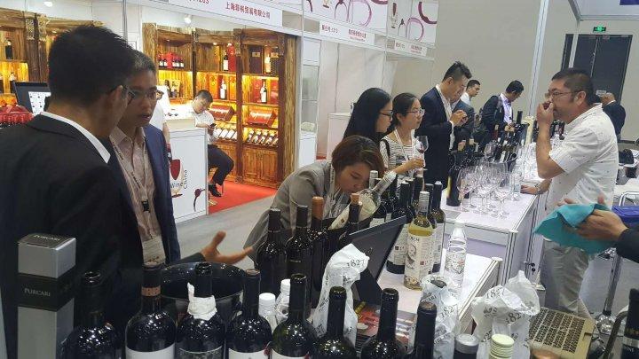 Peste 80 de tipuri de vinuri din Republica Moldova la Top Wine China (FOTO)