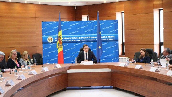Ministrul Tudor Ulianovschi s-a întâlnit cu reprezentanții corpului diplomatic