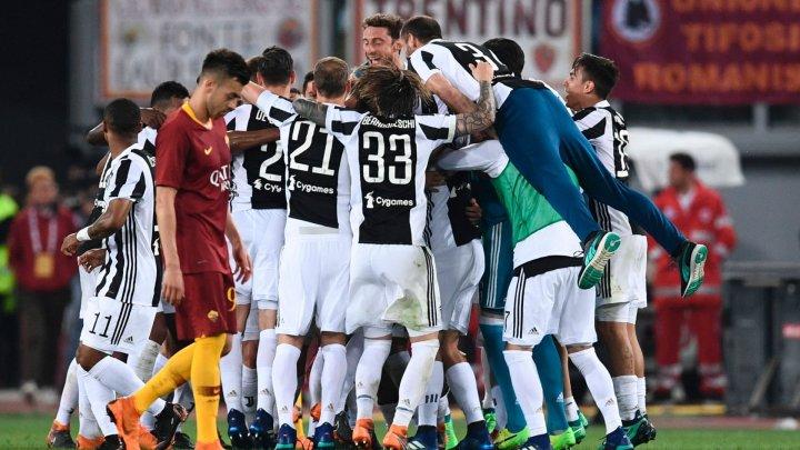 Juventus Torino a câştigat al şaptelea an consecutiv titlul de campioană a Italiei