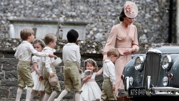Prinţul George şi Prinţesa Charlotte va fi în alaiul miresei la nunta regală