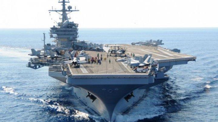 Atac, tiruri şi realimentare în zbor. Militarii francezi şi americani se antrenează într-o inedită operaţiune în Virginia