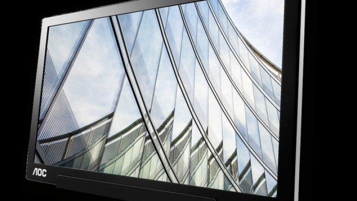 AOC lansează I1601FWUX, un nou monitor portabil pentru cei care lucrează în deplasare