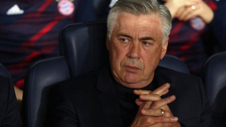 Carlo Ancelotti este noul antrenor al formației Napoli