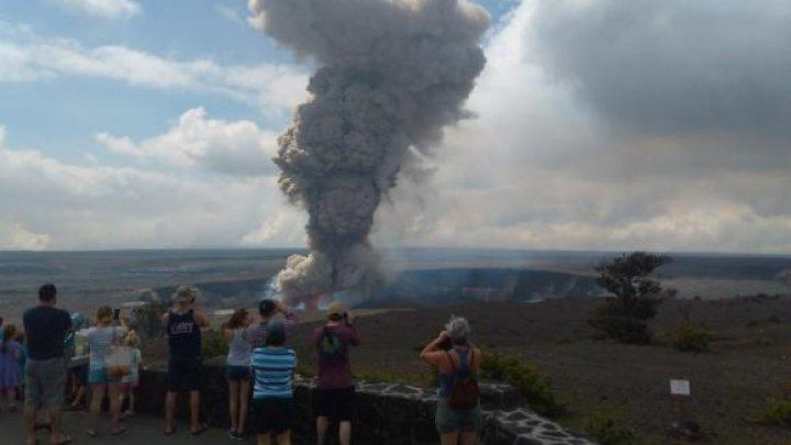 Două cutremure puternice și o erupție vulcanică au lovit Hawaii (VIDEO)