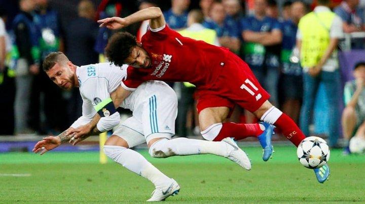 După ce l-a accidentat în finala UCL, Ramos îi urează însănătoşire grabnică lui Mohamed Salah