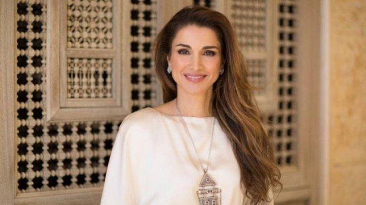 Cum arată Regina Rania a Iordaniei. Este foarte frumoasă (FOTO)