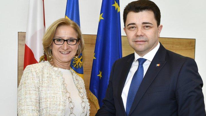 Dezvoltarea relațiilor moldo-austriece a fost discutată de ambasadorul Victor Osipov cu guvernatorul landului Austria Inferioară