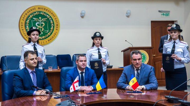 Vămile din Moldova, Ucraina și Georgia își intensifică colaborarea în domeniul instruirilor și schimburilor de experiență