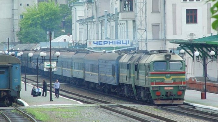 Trenurile din Kiev si Odesa ar putea circula spre Cernăuţi prin Republica Moldova
