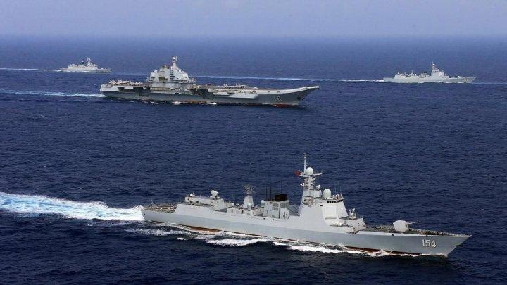 Tensiuni militare între China și SUA. Două nave de război, somate să părăsească un perimetru din Marea Chinei de Sud