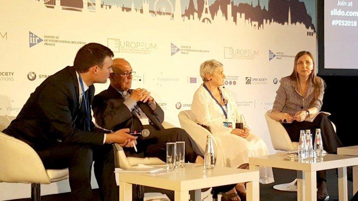 Secretarul de stat, Daniela Morari, a participat la cea de-a IV-a ediţie a Summit-ului European de la Praga