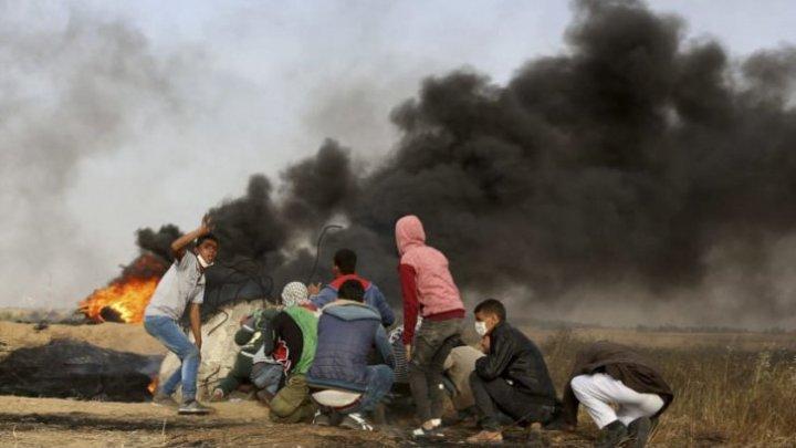 Bombardamente în Fâşia Gaza. Patru persoane au murit, iar peste 120 sunt răniţi
