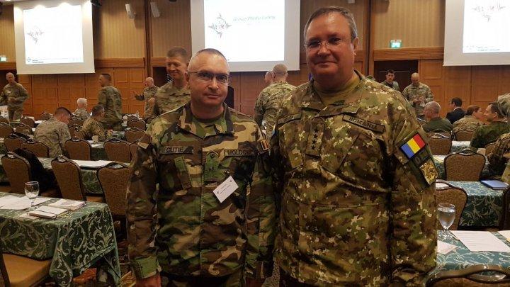 Comandantul Armatei Naţionale,  la conferinţa Statelor Majore ale Apărării din Europa