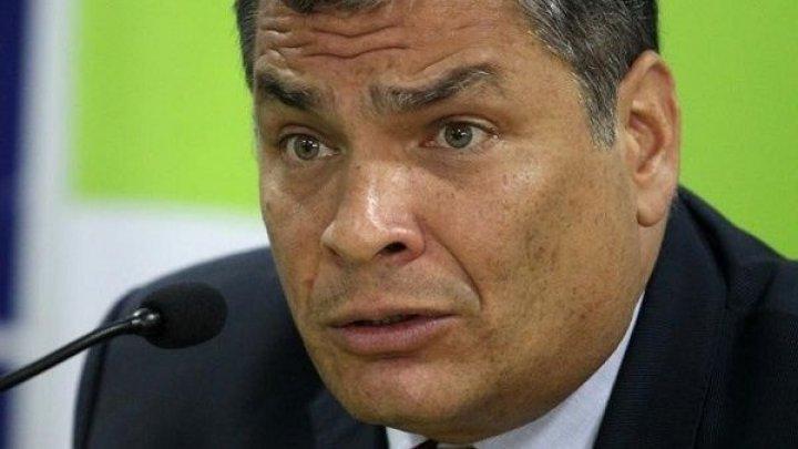 Ex-preşedintele Ecuadorului, Rafael Correa, convocat în faţa justiţiei pentru tentativă de răpire