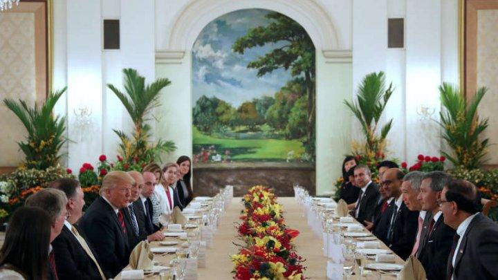 Preşedintele american, Donald Trump va reveni în Singapore în noiembrie pentru discuţii regionale