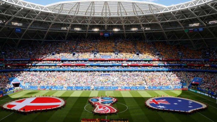Cupa Mondială 2018: FIFA a amendat Federaţia daneză pentru incidentele de la meciul cu Australia