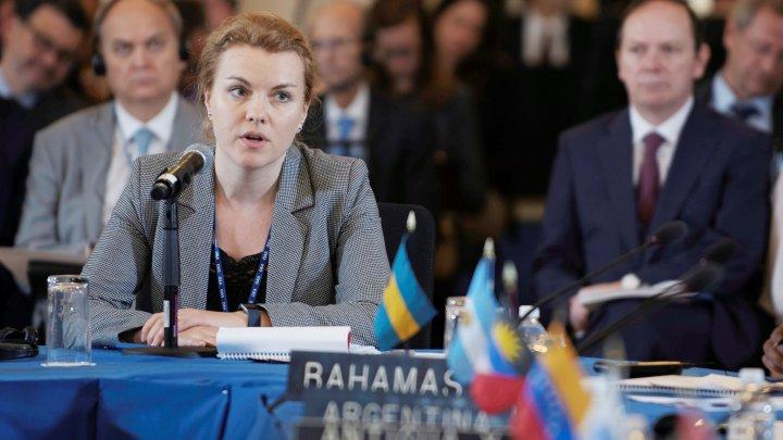 Secretarul de stat Tatiana Molcean a participat la lucrările Adunării Generale a Organizaţiei Statelor Americane