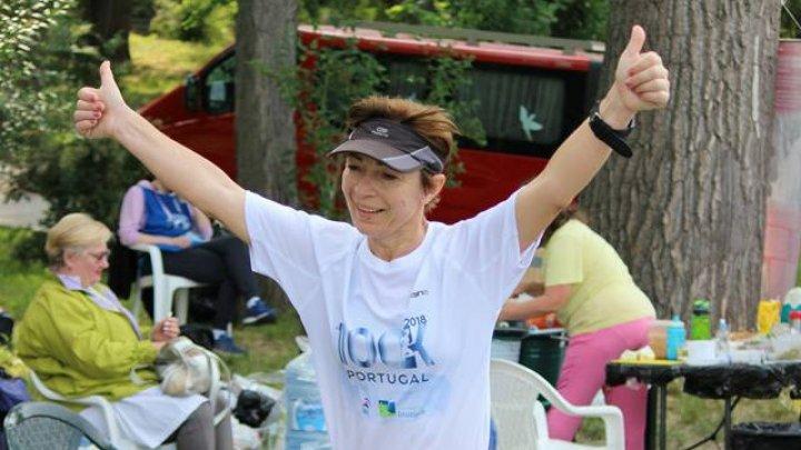 Sportiva Elena Iabanji a învins cancerul, iar apoi a devenit campioană a Portugaliei la Trail