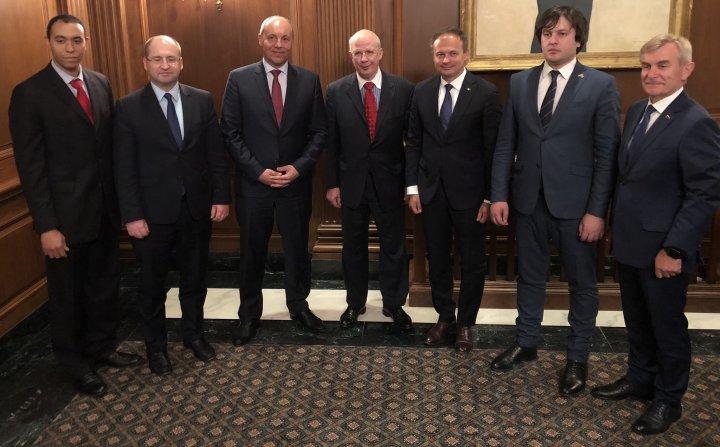 Andrian Candu a mulțumit SUA pentru suportul pe care îl acordă Moldovei