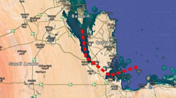 Arabia Saudită intenţionează să despartă Peninsula Arabă de Qatar