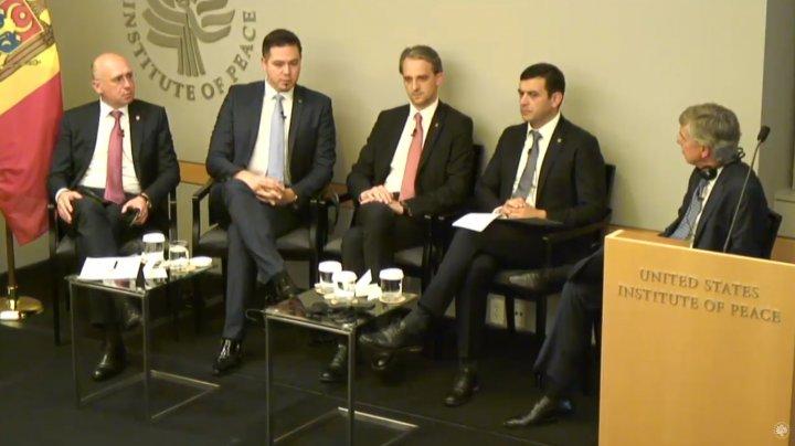 Securitatea regională şi influenţa Rusiei, discutate la Institutul american pentru pace (VIDEO)
