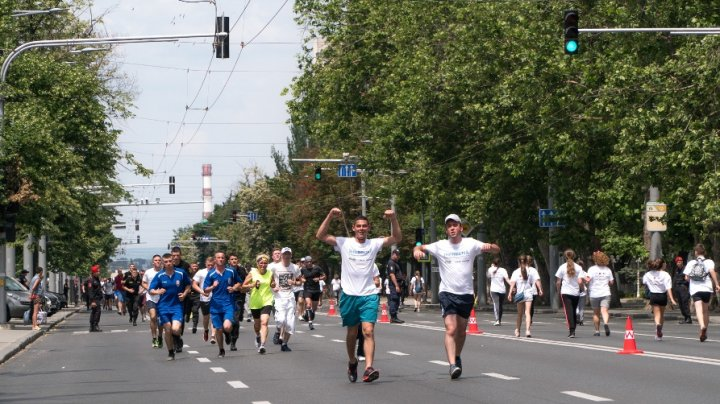 Peste 2000 de oameni au alergat în PMAN pentru a spune NU traficului de ființe umane  (FOTO)