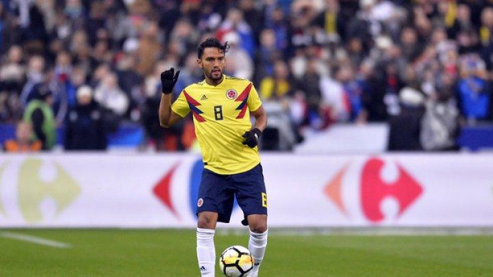 Cupa Mondială 2018: Columbianul Abel Aguilar nu este refăcut pentru meciul cu Senegal