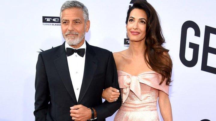 EMOȚIONANT! Amal Clooney, declarație de dragoste pentru George Clooney pe scenă