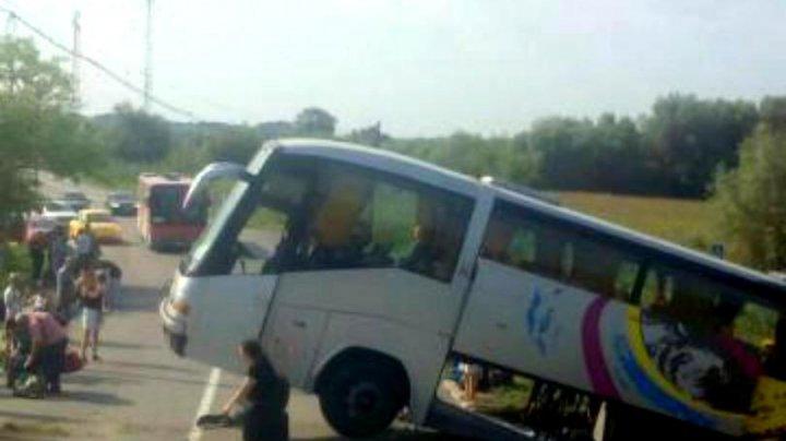 Autocar cu români, implicat într-un accident în Bulgaria. Mai multe persoane au fost rănite