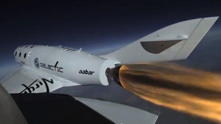 Virgin Galactic a testat din nou cu succes nava care va duce turişti în spaţiu pentru doar 250.000 de dolari