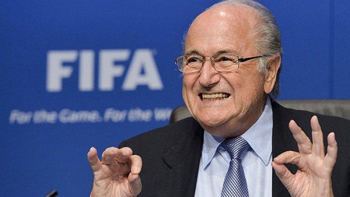 Cupa Mondială 2018: Blatter a sosit în Rusia pentru a asista la Cupa Mondială