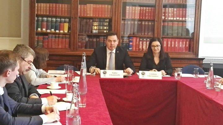"Ministrul Tudor Ulianovschi a participat la un round-table al clubului ""Chatham House"""